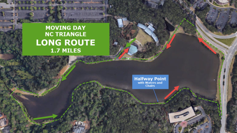 MDNCT Walk Route Long