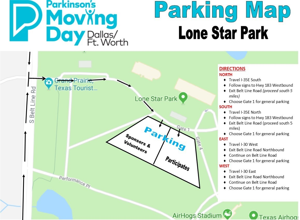 Event Information - Moving Day DFW - the Parkinson\'s Foundation