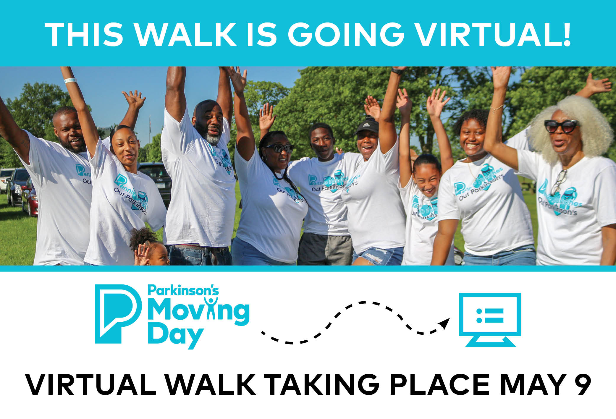 This walk is going virtual on May 9.
